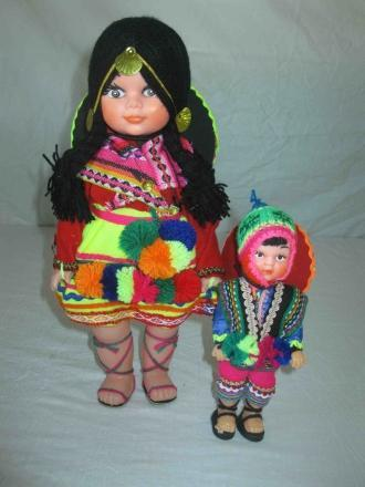 DOLL - Peruvian (small) only $15.00