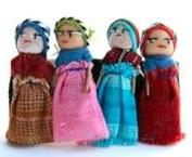 HAIR CLIP - Worry Dolls only $6.50